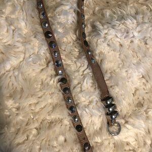 Accessories - Studded and rhinestone belt